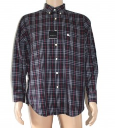 Original Burberry London Herrenhemd Langarm Navy (S/M/L/XL)